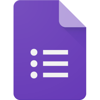 Logo of Google Forms